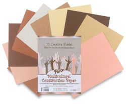 Pacon Multicultural Construction Paper - 9'' x 12'', 50 Sheets