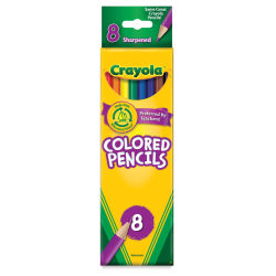 Crayola Colored Pencil Set - Assorted Colors, Set of 8