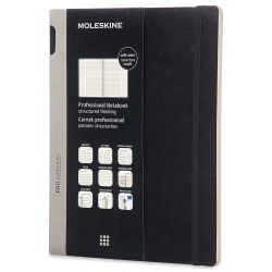 Moleskine Pro Collection - Workbook, Hardcover, Gridded, 11-3/4'' x 8-1/4''