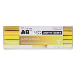 Tombow ABT PRO Alcohol Markers - Yellow Tones, Set of 5