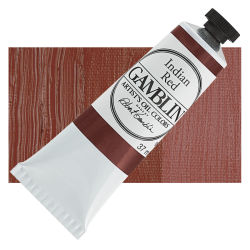 Gamblin Artist's Oil Color - Indian Red, 37 ml tube