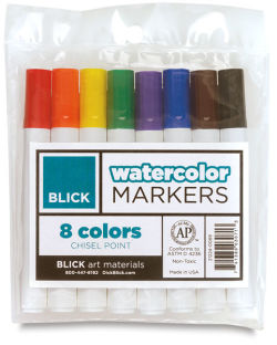 Set of 8 Markers  Outside of Package