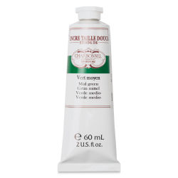 Charbonnel Etching Ink - Medium Green, 60 ml