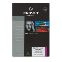 Canson Infinity PhotoGloss Art Papers - 13'' x 19'' (A3+), Premium Resin Coated, Pkg of 25