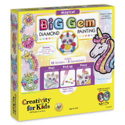 Faber-Castell Big Gem Diamond Painting Set - Magical Characters