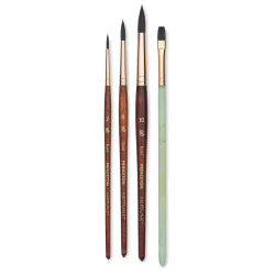Princeton Neptune Series 4750 Synthetic Squirrel Brushes- *Blick Exclusive* Set of 4
