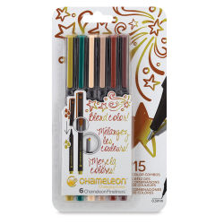 Chameleon Fineliner Pens - Set of 6, Nature Colors