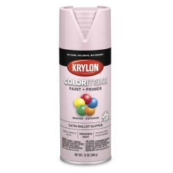 Krylon Colormaxx Spray Paint - Ballet Slipper, Satin, 12 oz