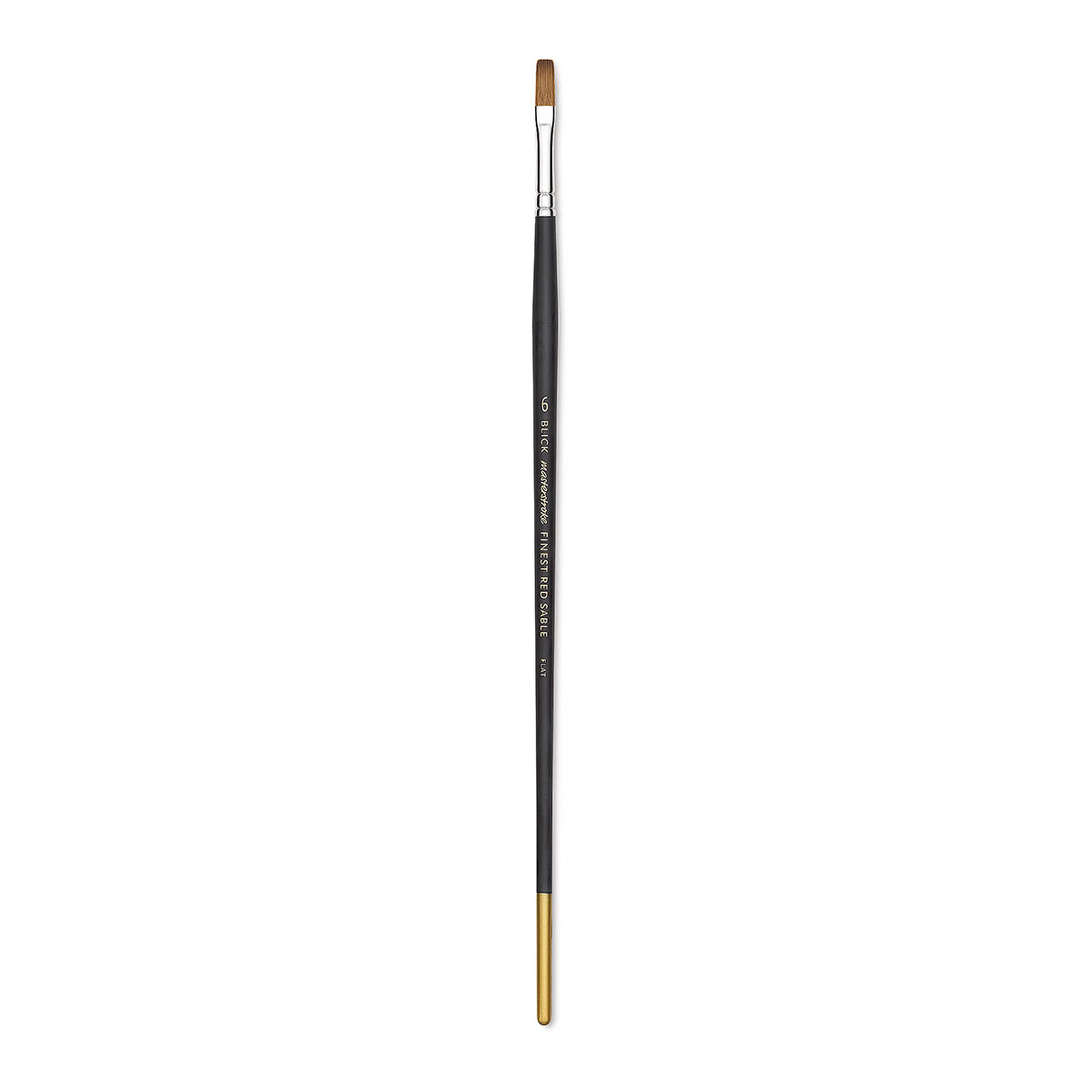 Blick Masterstroke Finest Red Sable Brush - Flat, Size 6, Long Handle
