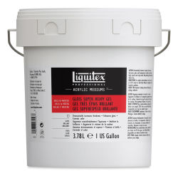 Liquitex Medium - Super Heavy Gel Medium. Gloss, 128 oz