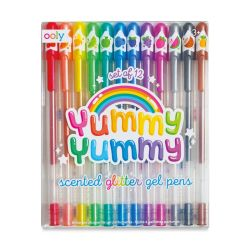 Ooly Yummy Yummy Scented Glitter Gel Pens, Set of 12