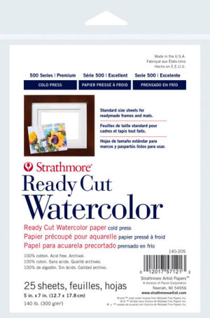 Strathmore Ready Cut Watercolor Sheets