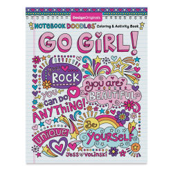 Notebook Doodles Coloring & Activity Book-Go Girl