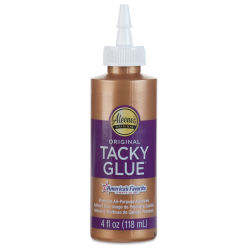Aleene's Original Tacky Glue - 4 oz, Squeeze Bottle