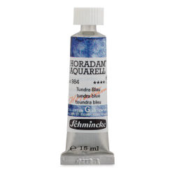 Schmincke Horadam Aquarell Artist Watercolor - Tundra Blue, 15 ml, Tube with Swatch