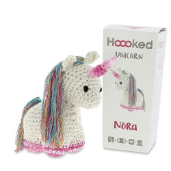Hoooked DIY Animal Crochet Kit - Nora the Unicorn
