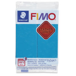 Staedtler Fimo Leather Effect Clay - Lagoon, 2 oz