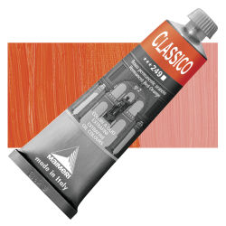 Maimeri Classico Oil Color - Permanent Red Orange, 60 ml tube