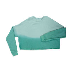 Bella Canvas Cropped Crew Fleece - Dusty Blue, X-Large