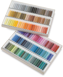 Holbein Artists' Soft Pastel Set - Assorted Colors, Set of 144