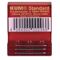 Kum Wedge Replacement Blades - Pkg of 3