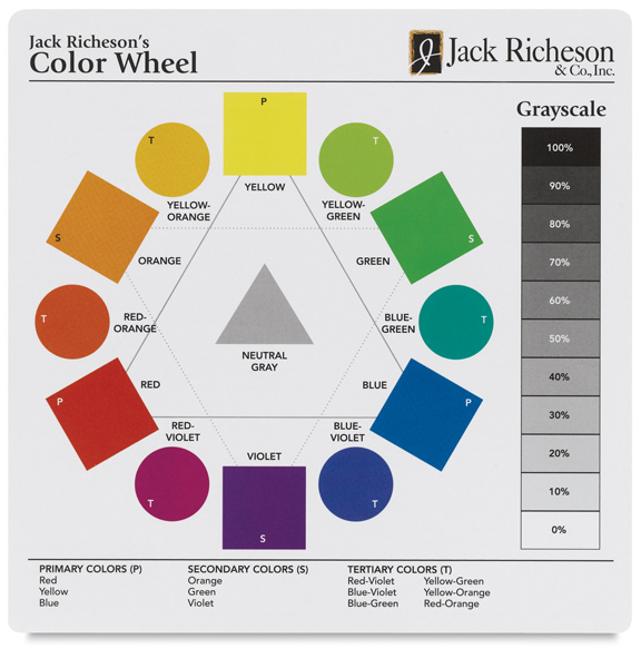 Richeson Extra Large Color Wheel - 19-1/4'' x 19-1/4''