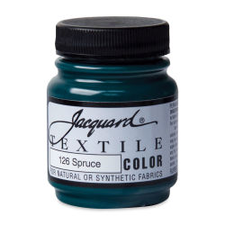 Jacquard Textile Color - Spruce, 2.25 oz jar