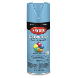 Krylon Colormaxx Spray Paint - Island Splash, Satin, 12 oz