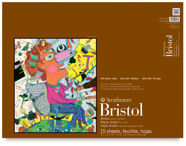 Strathmore 400 Series Bristol Sheets smooth 4 ply sheets