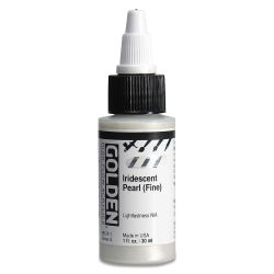 Golden High Flow Acrylics - Iridescent Pearl (Fine), 1 oz bottle