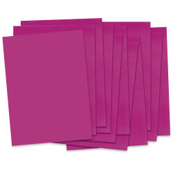 Pacon Riverside 3D Construction Paper - 18'' x 24'', Magenta, 50 Sheets