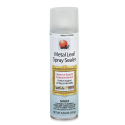 Odif Metal Leaf Spray Sealer, 6.5 oz Can