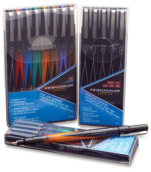 Prisma Illustration Marker Fineline 03 Black