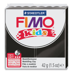 Staedtler Fimo Kids Polymer Clay - Black, 1.5 oz