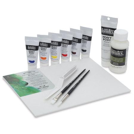 Liquitex Heavy Body Artist Acrylics - Acrylic Starter Set