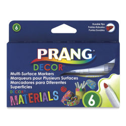 Prang Décor Multi-Surface Markers - Set of 6
