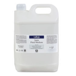 Vallejo Acrylic Fluid Medium - Satin, 5 liter