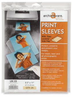 Digital Print Sleeves, Pkg of 25