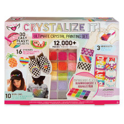 Fashion Angels Crystalize It Kit - Ultimate Crystal Painting Set