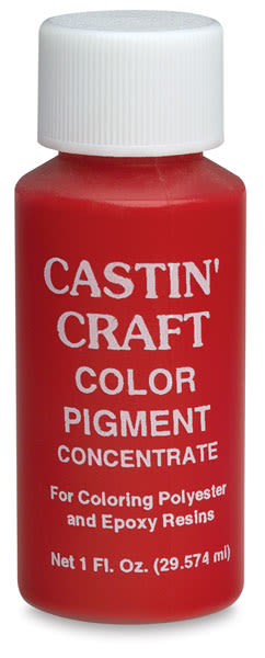 Castin'Craft Opaque Pigment - 1 oz, Red