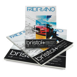 Fabriano Bristol+ Pads - 11'' x 14'', 20 Sheets