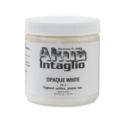 Akua Intaglio Ink - Opaque White, 237 ml