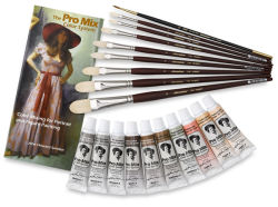 Portrait Paint Set, 19 Pieces