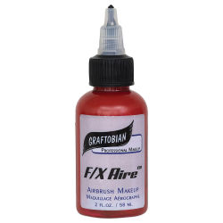 Graftobian F/X Aire Airbrush Makeup - Maroon, 2 oz