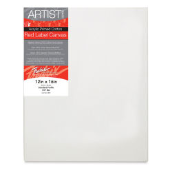 Fredrix Red Label Cotton Canvas - 12'' x 16'', 3/4'' Profile