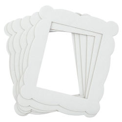 Hygloss Corrugated Cardboard Frames - 11-1/2 x 13-3/4, pkg of 6