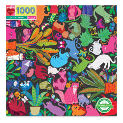 Eeboo Cats at Work 1,000 Piece Puzzle, Box