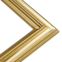 Classique Wood Frame, Light Gold