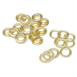 GAP Econo Self-Piercing Grommet Machine - Grommets Only, Pkg of 500, Size 1