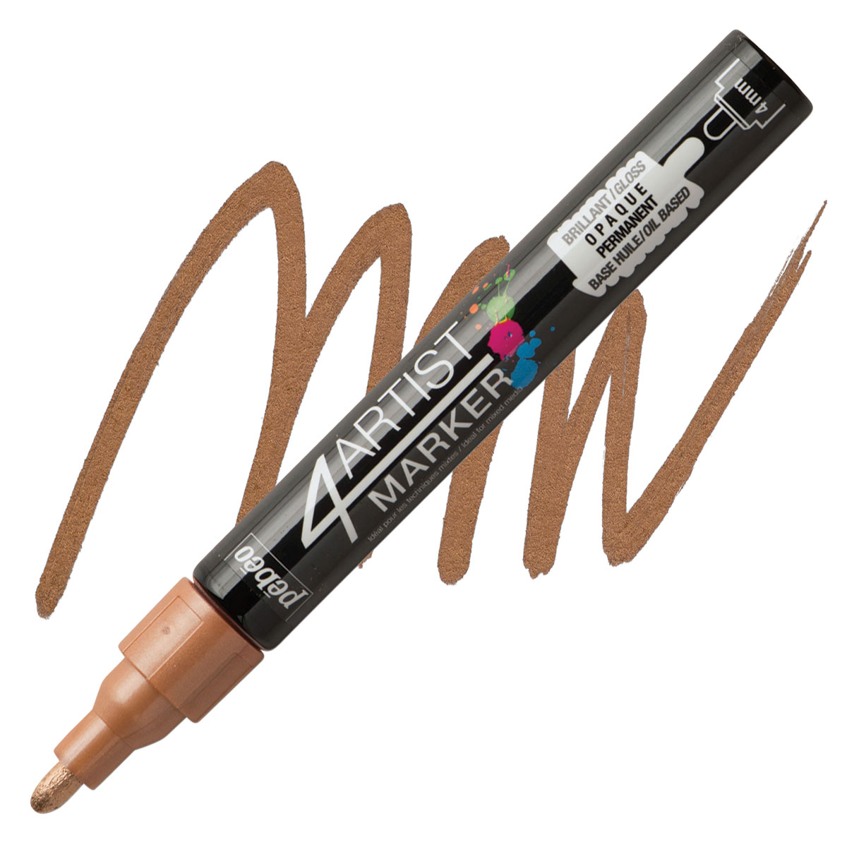 2mm Pebeo 4Artist Marker Gold by Pebeo